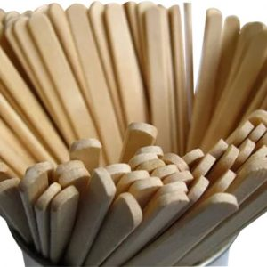 Kašika za espresso drvene 18 cm, 1000kom/pak