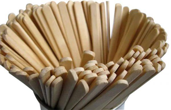 Kašičice za espresso drvene 18 cm, 1000kom/pak
