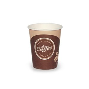 Papirna čaša 1-sl 250 ml d=80 mm Coffee take away (50 kom/pak)