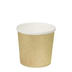 Kartonska posuda za supu 300 ml d=90mm h=85mm kraft (50 kom/pak)