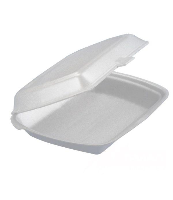 Kutija za ručak preklopna LUNCH BOX EPS 1 odeljak 249х207х61mm LBE-1 (100 kom. u pakovanju) (1000 kom/pak)