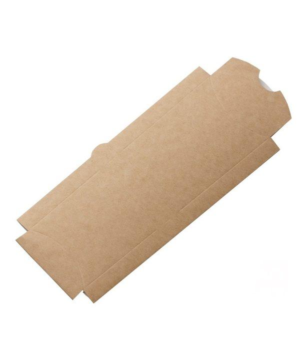 Kutija za wrap, kebab i tortilju 210x80x60 mm, kraft (400 kom/pak)
