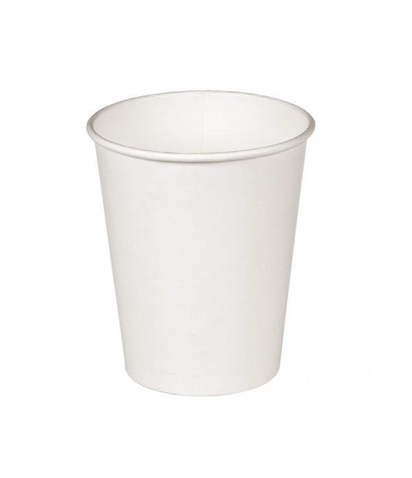 Papirna čaša 1-sl 300 ml d=90mm bijela (50 kom/pak)