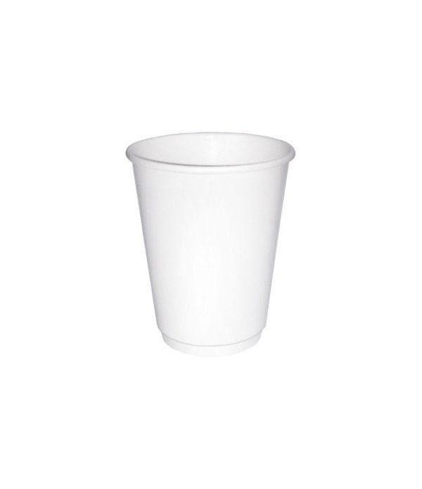 Papirna čaša 2-sl 250 ml d=80 mm bijela (25 kom/pak)