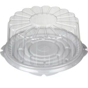 Kutija za tortu PS d=260mm h=112 mm – poklopac (100 kom/pak)