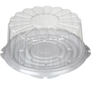Posuda za tortu Т—230К d=260mm h=112 mm (poklopac) (100 kom/pak)