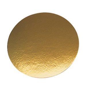 Tacna od kartona d=240mm zlato (50 kom/pak)