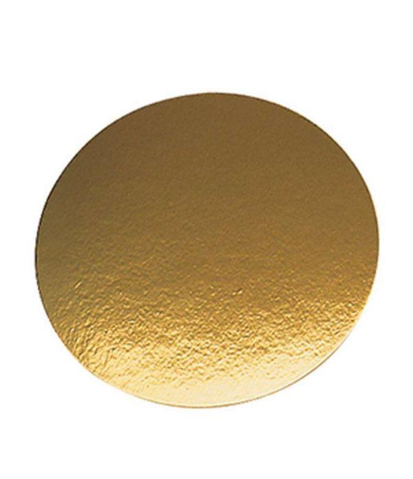 Podmetač od kartona d=240mm zlato (50 kom/pak)