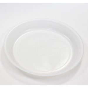 Tanjir plastični beli d=205 mm PP (100 kom/pak)