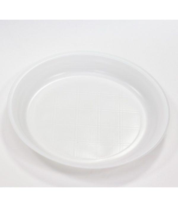 Tanjir PS bijeli d=10=205 mm (1000 kom/pak)
