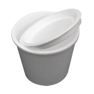 Čaša sa poklopcem EPS 500 ml d=110 mm h=916 mm (440 kom/pak)