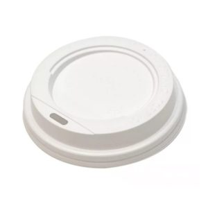 Poklopac sa bočnim otvorom, d=73 mm beli PS  (100 kom/pak)