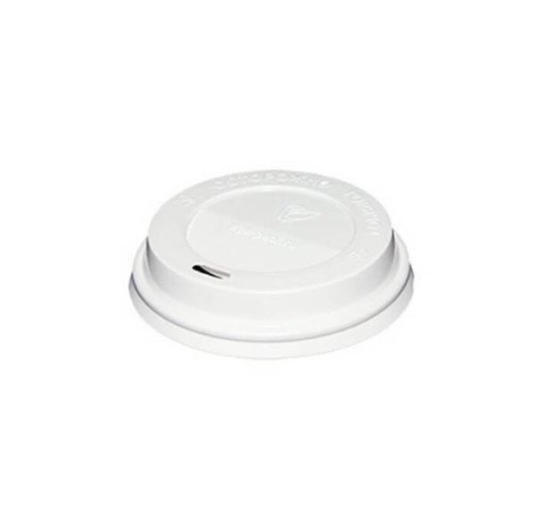 Poklopac PS sa bočnim otvorom d=90mm, beli(100 kom/pak)