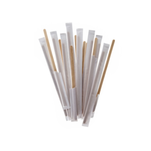 Lesena mešalna palčka. 178 mm. Posamezno pakirano 200/1 zavoj