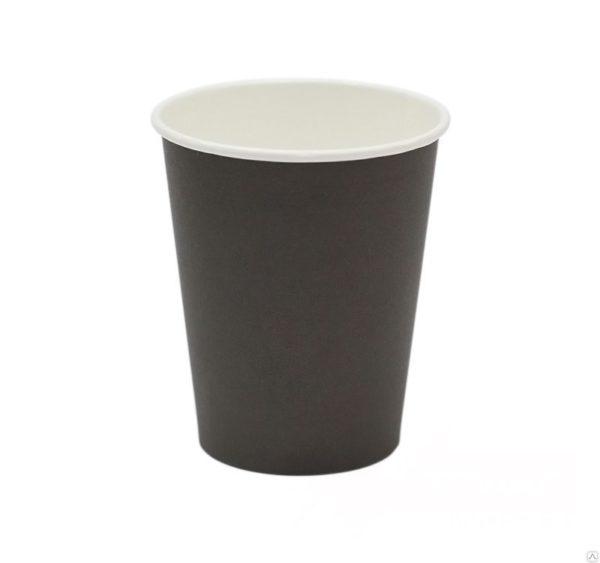 Papirna čaša 1-sl 300 ml d=90 mm crna (50 kom/pak)