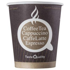 Papirnat kozarec 250 (280) ml za tople napitke, d=80 mm Coffee TQ