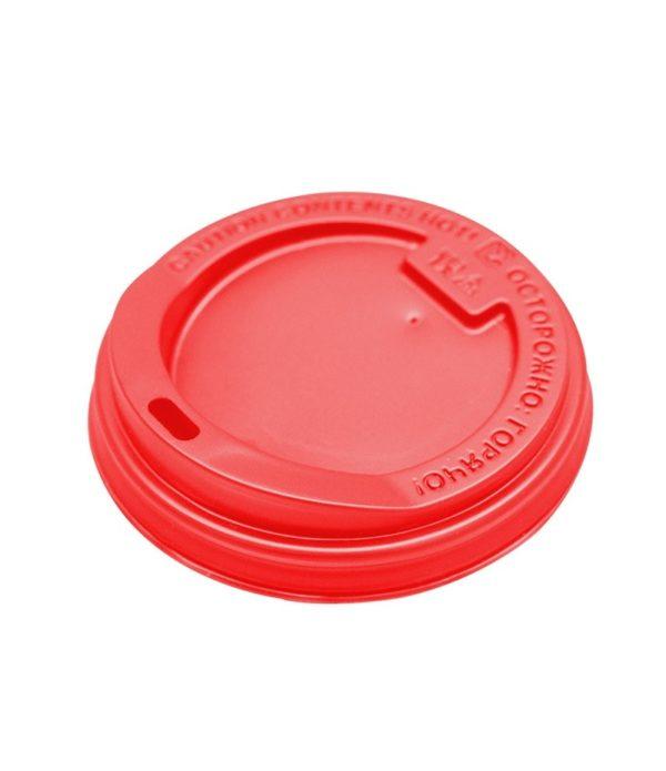 Poklopac sa bočnim otvorom PS d=90 mm crven (100 kom/pak)