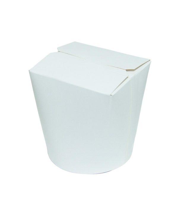 Posuda papirnata 138x94x98,4mm 700ml bela, okruglo dno (450 kom/pak)