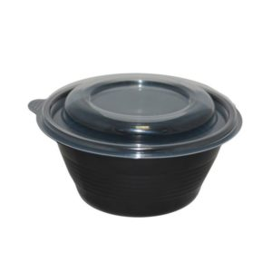 Posuda za supu sa poklopcem PP 500 ml d=144 mm h=52 mm 540 kom (komplet)