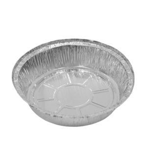 Posuda aluminijumska Complement okrugla 185x45mm, 800 ml, 60µm (125 kom/pak)