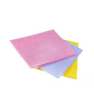 Krpa viskozna univerzalna za suho i mokro čišćenje 30×38 cm 5 kom/pak  plava ToMoS