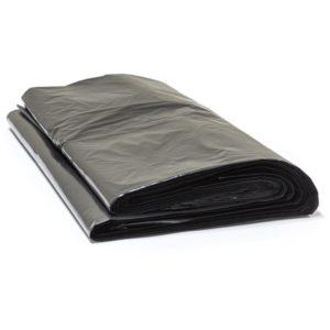 Vrečka za smeti 180 L črna, 50µm, HDPE