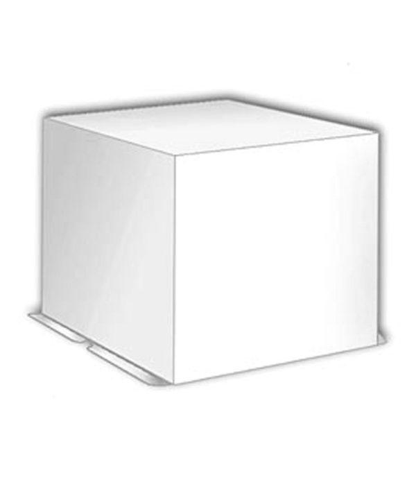 Kartonska kutija za tortu 300х300х250 mm 3 kg – poklopac (20 kom/pak)