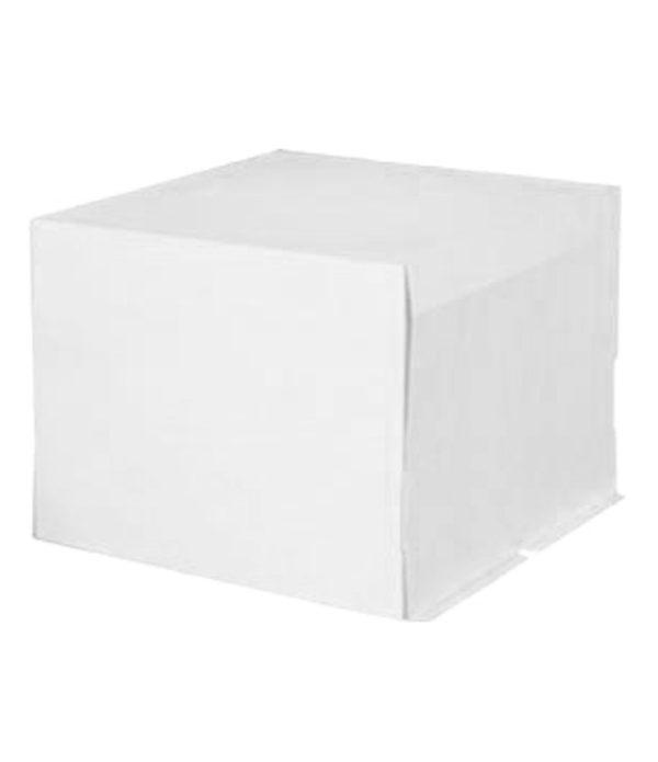 Kartonska kutija za tortu 400х400х300 mm 5 kg bez slike – poklopac (20 kom/pak)