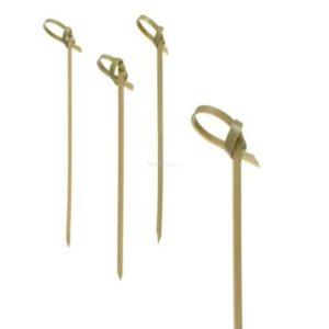Bockalica od bambusa za kanapee VOZEL, 9 cm 100kos/pak