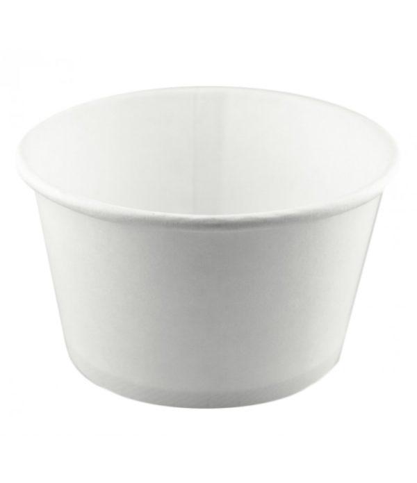 Kartonska posuda za supu 500 ml d=121 mm h=72 mm bijela (500 kom/pak)