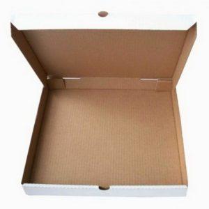 Kutija za picu 330x330x40mm, mikro valoviti karton (50 kom/pak)