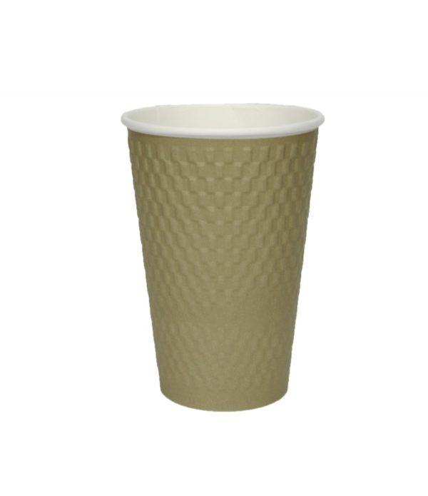 Čaša papirnata troslojna 410 (25 kom/pak)
