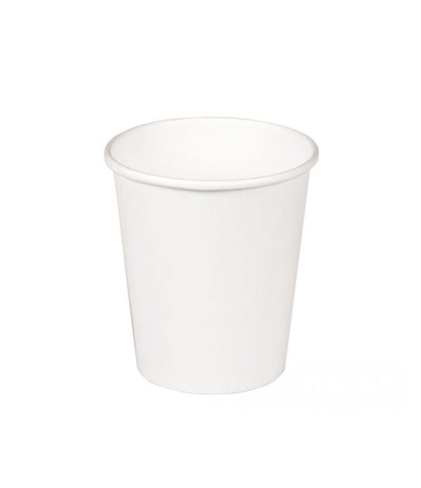 Papirna čaša 2-sl 250 ml d=80 mm bijela (50 kom/pak)