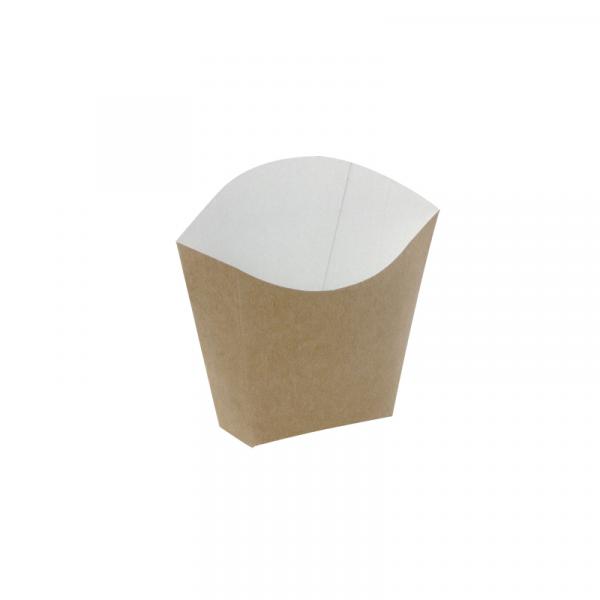 Kutija za pomfrit 81x49x71 mm kraft (25 kom/pak)