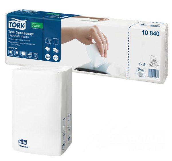 Papirne salvete TORK Universal N4 1-sl bijele 225 l/pak (10840) (5 kom/pak)