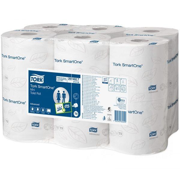 Toaletni papir 2-sl 111m/rola TORK Advanced SmartOne Mini (472193) (12 kom/pak)