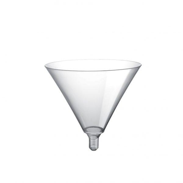 Čaša za martini Gold Plast providna (20 kom/pak)