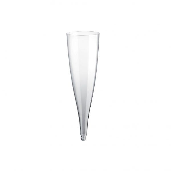 Čaša za šampanjac Easy Flute 140 ml PS Gold Plast providna (20 kom/pak)