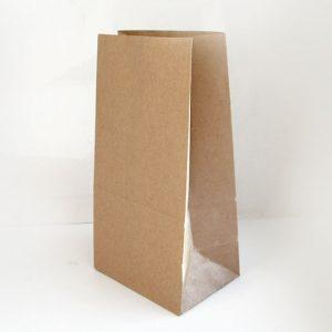 Papirna kesa 220х120х290 mm kraft (1000 kom/pak)