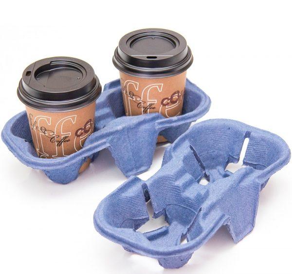 Držač za dve čaše 193х108х42 mm plavi (110 kom/pak)