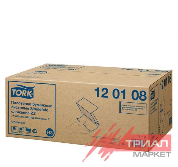 Ubrusi ZZ presavijeni 1-slojni 250l/pak TORK UNIVERSAL H3 (120108) (20 kom/pak)