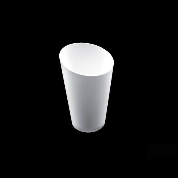 Posuda Conico Alto za catering 70 ml Gold Plast bijela (25 kom/pak)