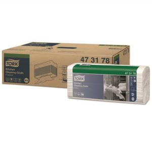 Materijal za brisanje Tork W4 beli za kuhinju, salvete (473178)