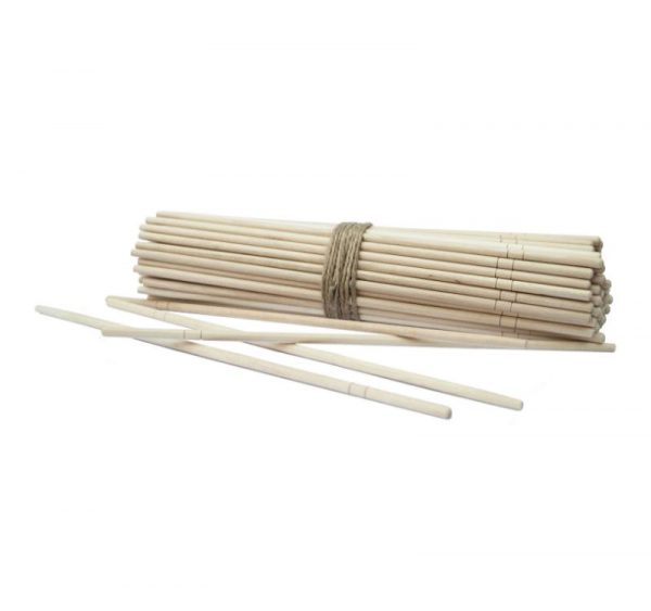 Štapići za jelo u plasatičnom individualnom pakovanju, okrugli (100 kom/pak)