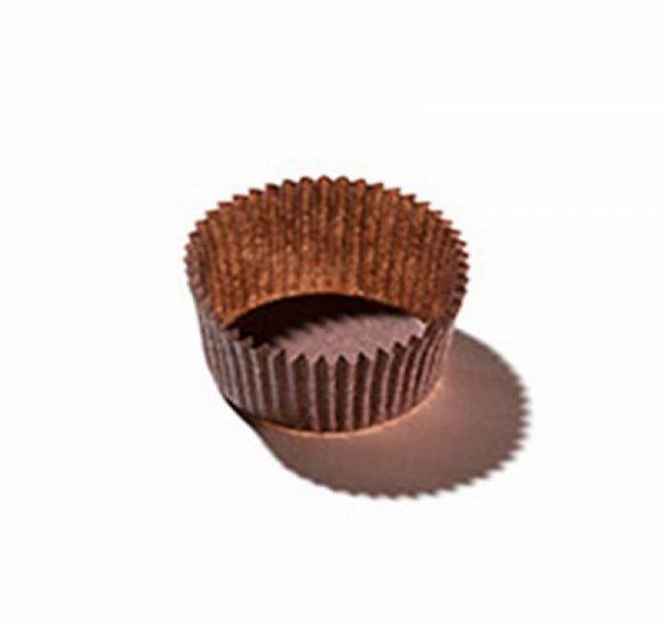 Podmetač kartonski okrugli d=35 mm, h=20 mm, smeđi (100 kom/pak)