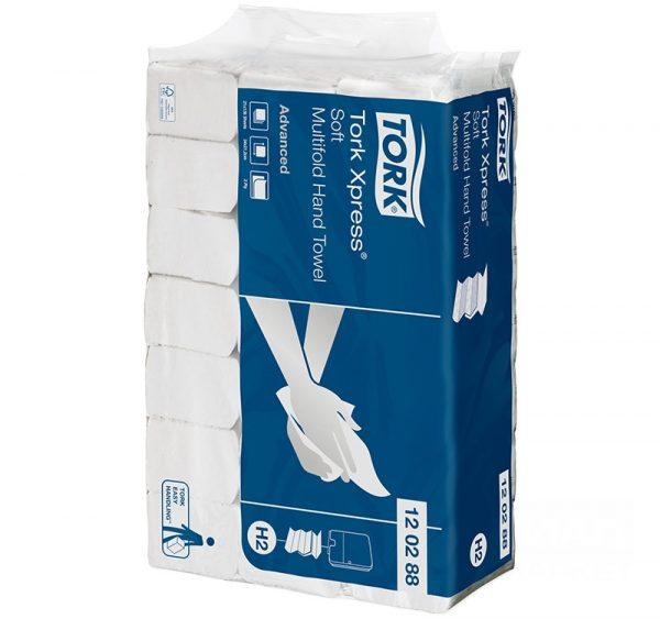 Papirni ubrusi 2-sloja Z-savijanje 136 listova