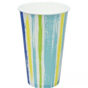 Papirna čaša 1-sl 500 ml d=90 mm  Strips za hladna pića (50 kom/pak)