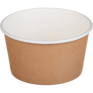 Kartonska kutija Tambien ECO 380 ml d=110 mm h=60 mm kraft (50 kom/pak)