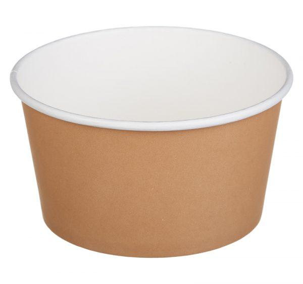 Kartonska kutija Tambien ECO 720 ml d=135 mm h=68 mm kraft (50 kom/pak)