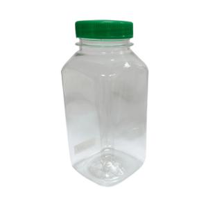 Boca plastična sa poklopcem 0.25l d-38 mm kvadratna (300 kom/pak)